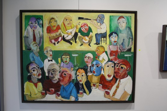 Niş Art Gallery'de Orhan Kurmalı rüzgarı galerisi resim 1