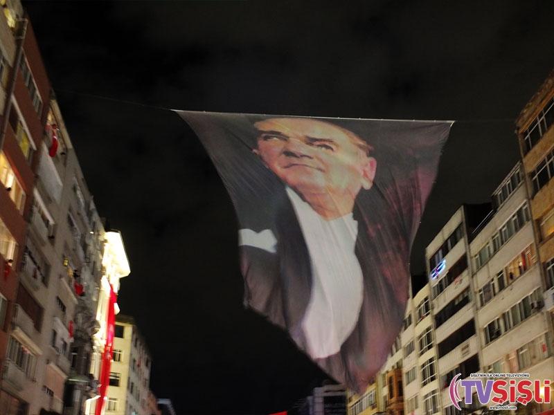 Şişli'de Cumhuriyet Bayramı Coşkuyla Kutlandı galerisi resim 1