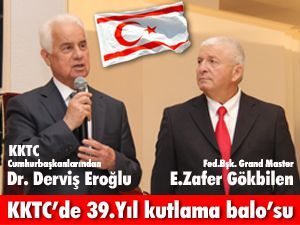 KKTC'de 39.yıl kutlaması
