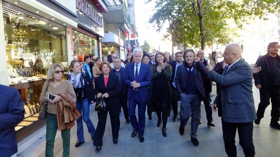 Muammer Keskin CHP Şişli Belediye Başkan aday adaylık başvurusu galerisi resim 1