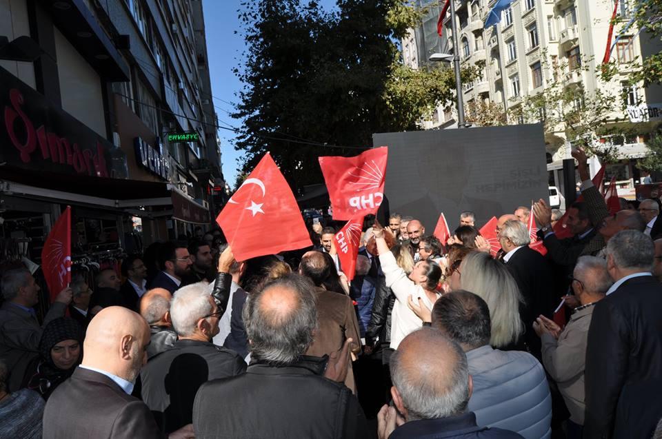 Muammer Keskin CHP Şişli Belediye Başkan aday adaylık başvurusu galerisi resim 2