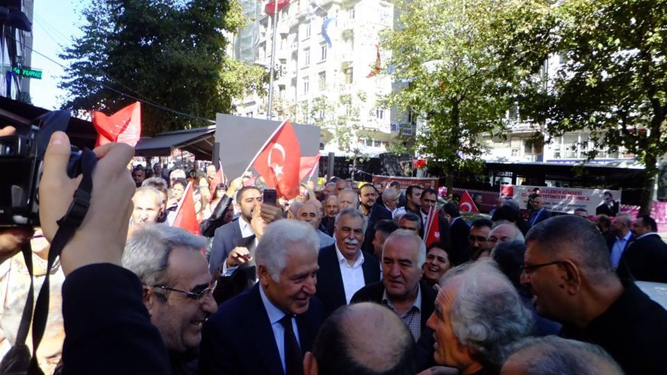 Muammer Keskin CHP Şişli Belediye Başkan aday adaylık başvurusu galerisi resim 5