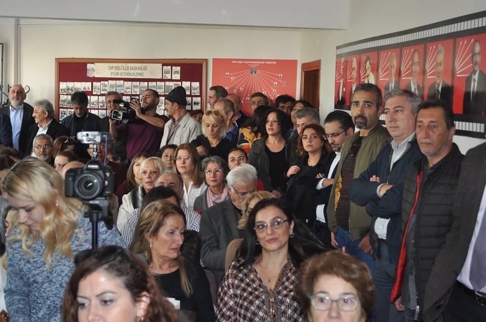 Muammer Keskin CHP Şişli Belediye Başkan aday adaylık başvurusu galerisi resim 8
