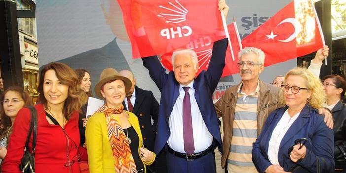 Muammer Keskin CHP Şişli Belediye Başkan aday adaylık başvurusu