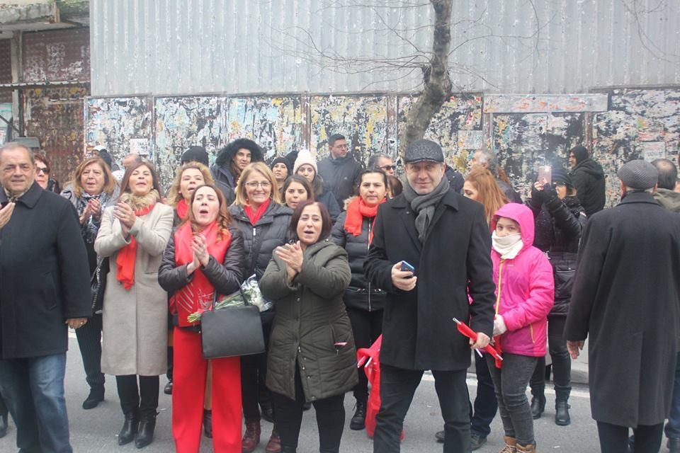 CHP Şişli Belediye Başkan adayı Muammer Keskin miting galerisi resim 10