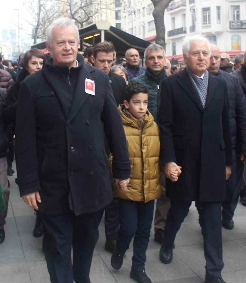 CHP Şişli Belediye Başkan adayı Muammer Keskin miting galerisi resim 5