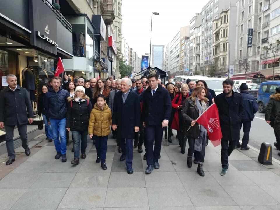 CHP Şişli Belediye Başkan adayı Muammer Keskin miting galerisi resim 7