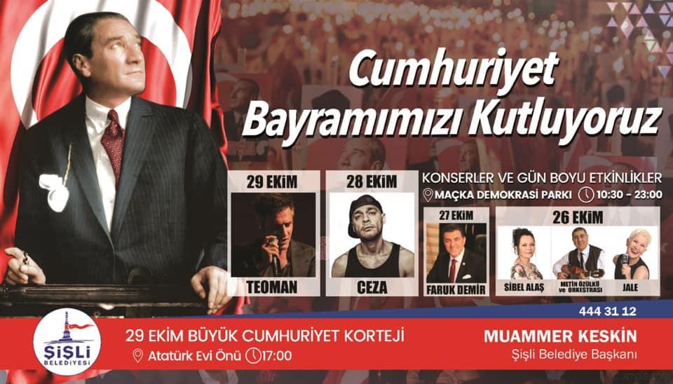 Şişli Belediye Başkanı Muammer Keskin'den 4 gün 4 gece bayram kutla galerisi resim 2