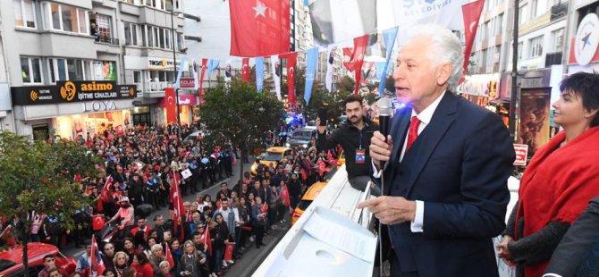 Şişli Belediye Başkanı Muammer Keskin'den 4 gün 4 gece bayram kutla