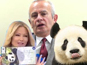 İnönü'den Anneler Günü'nde Müge Anlı'ya Panda!
