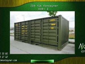 ISO Yük Konteyner Aktimkonteyner.com Adresinde