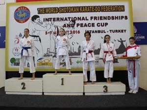 W.S.K.F.'nin düzenlediği turnuvada'' Dostluk ve Barış'' kazandı!..