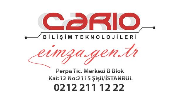 CARİO BİLİŞİM TEKNOLOJİLERİ FİRMASI | eimza.gen.tr