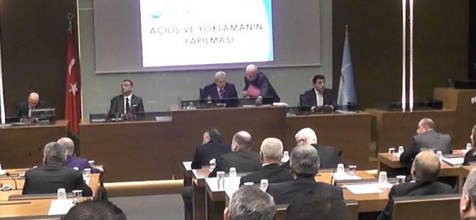 2017 yılının ilk meclis toplantısı Şişli Belediyesi Meclis salonunda gerçekleşti.