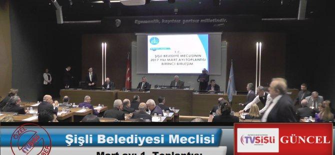 Şişli Belediye Meclisi Mart ayı 1. Toplantısı Yapıldı..