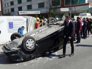Şişli'de Aşırı Hız Kazası..!