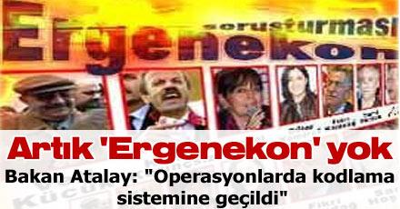 Artık 'Ergenekon' yok