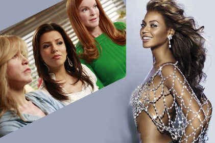BEYONCE DESPERATE HOUSEWIVES'DA