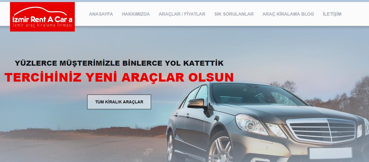 İzmir Gaziemir Oto Kiralama Firması