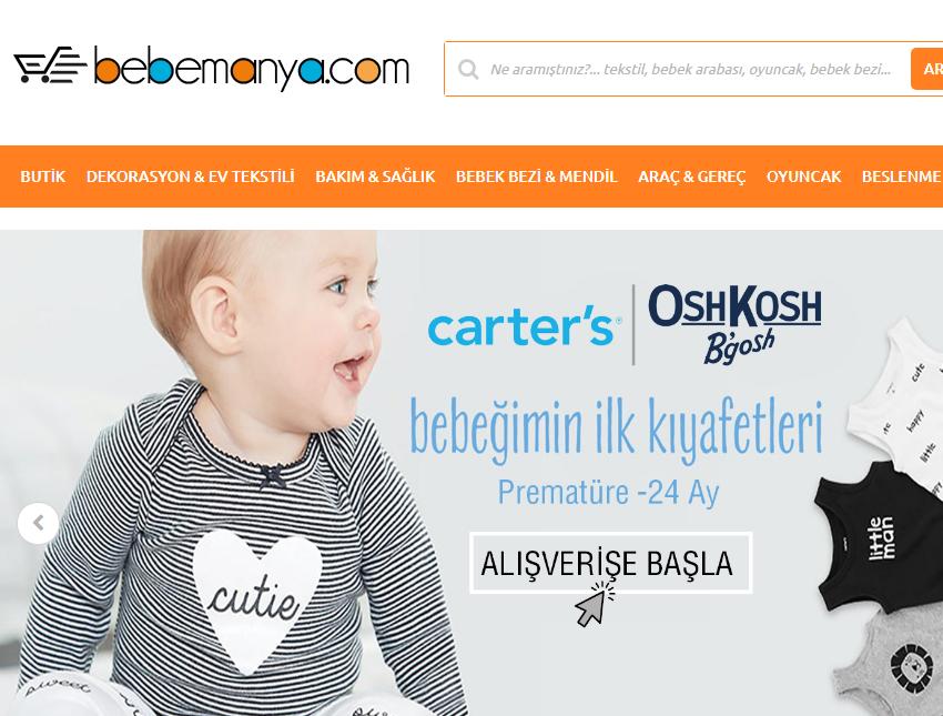 Bebemanya İle Bebek Giyim Alışverişinizi Yapın