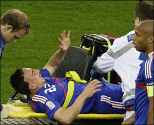Ribery 7 hafta sahalardan uzak