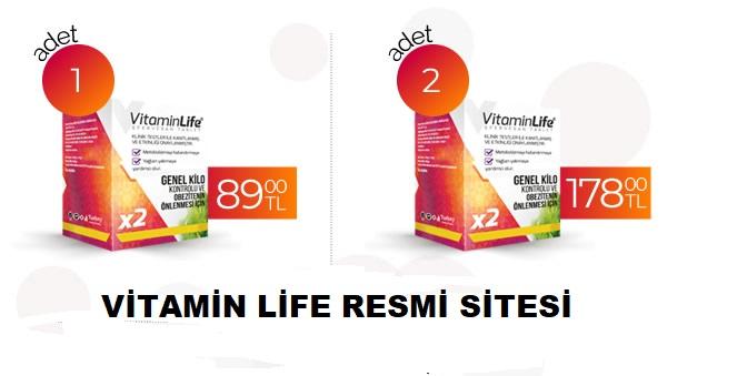 Vitaminlife Tablet Nasıl Sipariş Edilir?