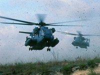 Düşen helikopterden kurtulan yok
