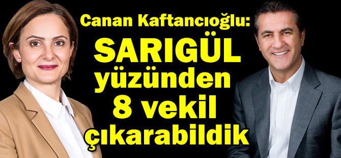 """Kaftancıoğlu: """"CHP 2'nci bölgede Sarıgül'den dolayı 8 vekil çıkartabildi"""""""