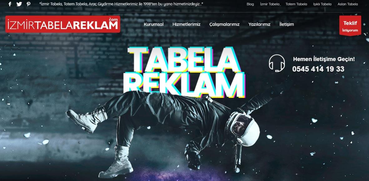 İzmir'de Özel Totem Tabela Yapan Firmalar