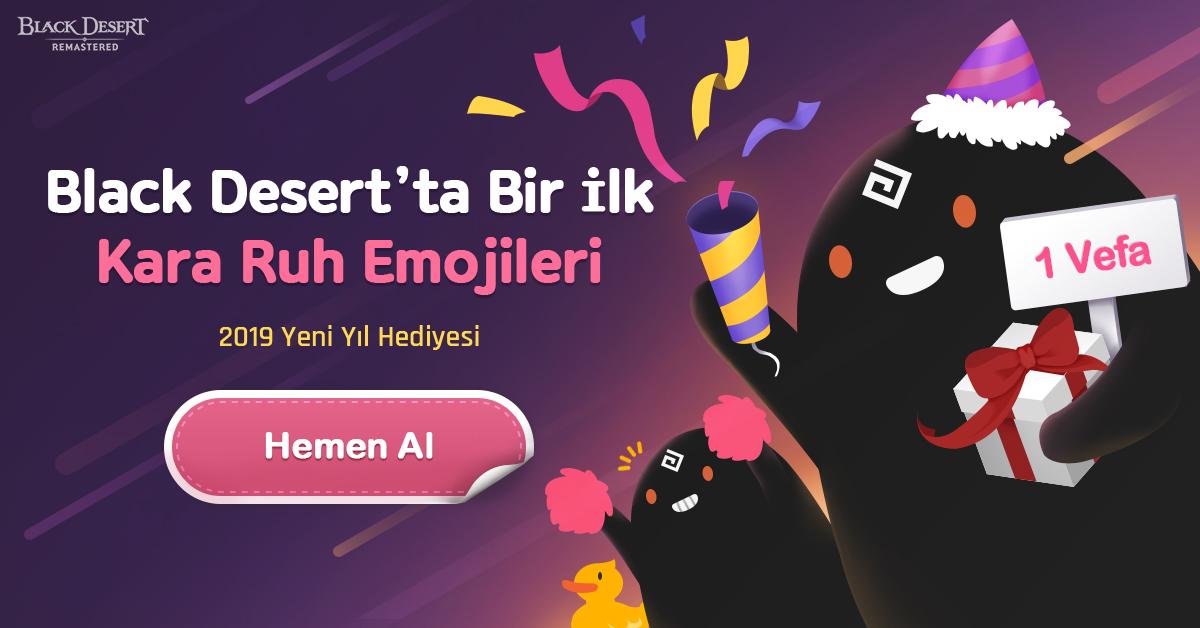 BLACK DESERT ONLINE YILBAŞI ŞENLİKLERİ BAŞLIYOR!
