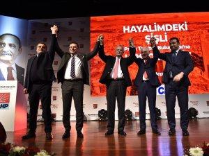 CHP'nin Şişli adayı Muammer Keskin seçim projelerini açıkladı