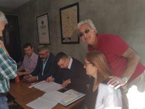 Bozkurt Mahallesi'nde CHP Kırmızı ve Beyaz listeleri yarıştı