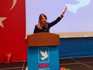 DSP Şişli İlçe Başkanı Şefika Keskin oldu