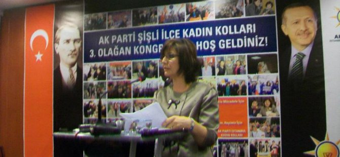 AK Parti Şişli Kadın Kolları Başkanlığı'na Hatice Kep atandı