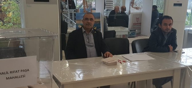 Halil Rıfat Paşa Mahallesi CHP delege seçimini Kırmızı Liste kazandı