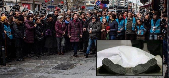 Gazeteci Hrant Dink, Şişli'de Agos Gazetesi önünde anıldı