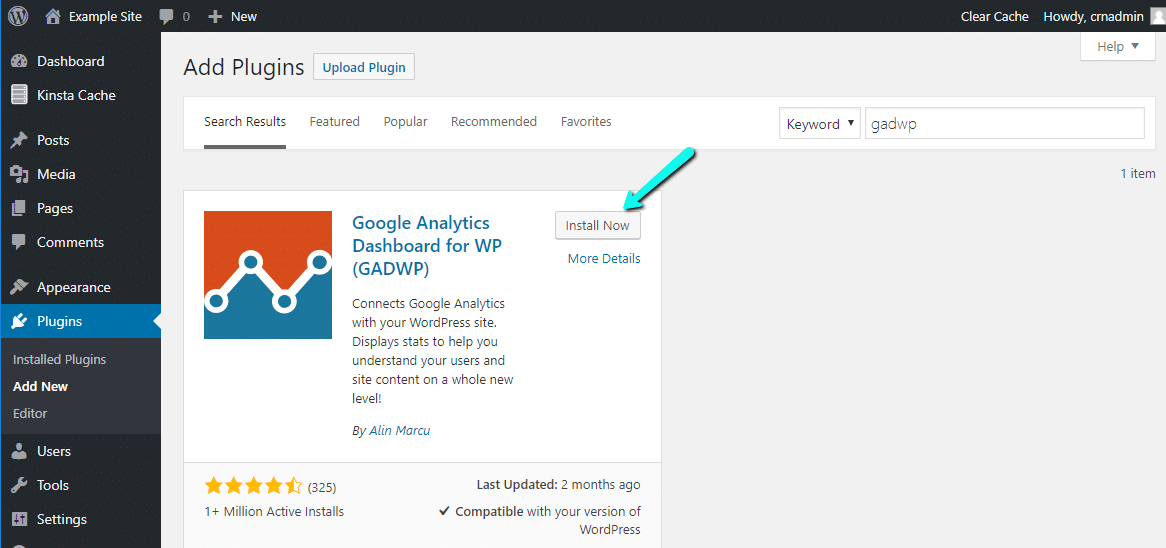 Wordpress google analytics pluginleri