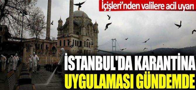 İstanbul'da sokağa çıkma yasağı geliyor!