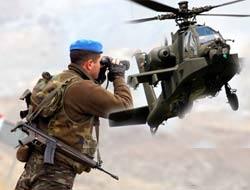 Asker PKK'ya bomba yağdırıyor