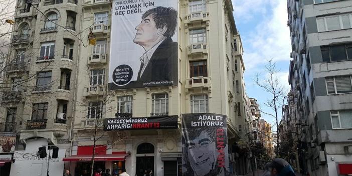 Şişli'deki Hrant Dink vakfı yöneticilerine tehdit