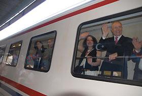 Hürriyet treni Kars'tan yola çıktı
