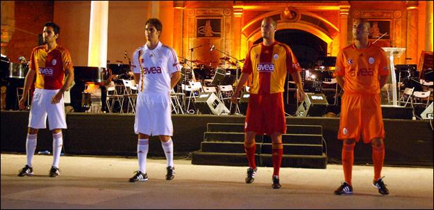 Galatasaray'a 4 yeni forma