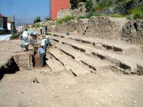 Roma Dönemine ait stadyum bulundu