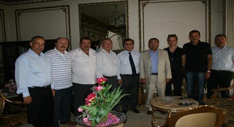 Ak Parti'den Mehmet Öklü'ye ziyaret