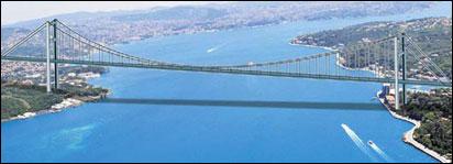 3. köprü Tarabya'dan Beykoz'a