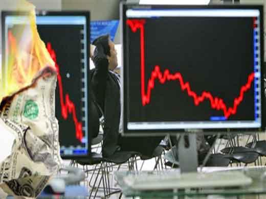 Kriz reel sektöre sıçradı Dow Jones çöktü