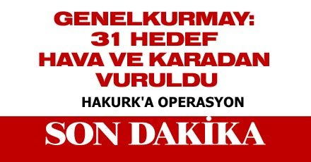 HAKURK'A OPERASYON
