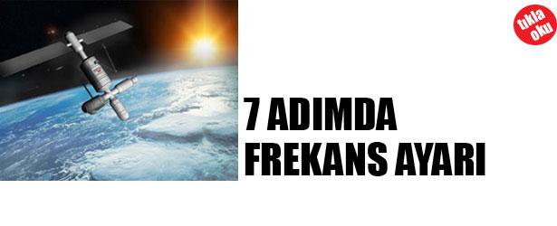 7 ADIMDA FREKANS AYARI