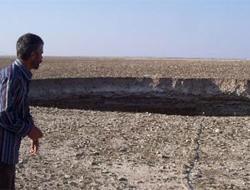 Konya'da esrarengiz çukurlar