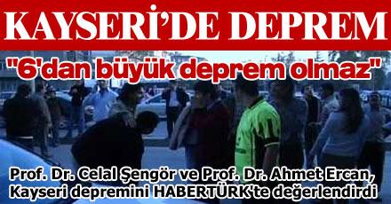 KAYSERİ'DE DEPREM